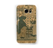 Artist Posters Millions now use Pearline James Pyles's Pearline washing compound the great invention 0877 Samsung Galaxy Case/Skin