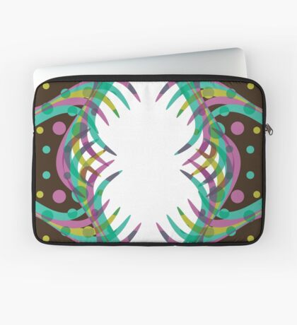 Abstract Spring Bloom Laptop Sleeve