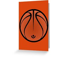 Vector Basketball Greeting Card