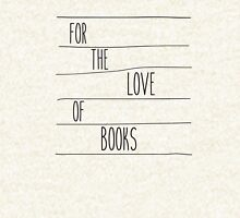For The Love of Books Zipped Hoodie