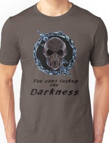 You cant lock up the darkness - zoom Unisex T-Shirt