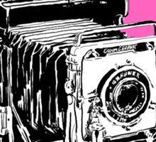 Vintage Graphex Camera in Hot Pink Sticker