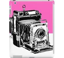 Vintage Graphex Camera in Hot Pink iPad Case/Skin