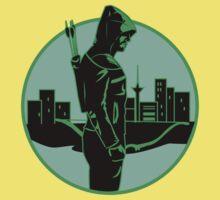 Green Arrow One Piece - Short Sleeve