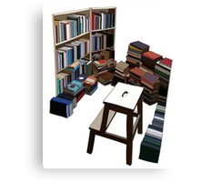 Book Corner Canvas Print
