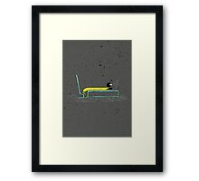 Pure Laziness by Thao Vu Framed Print