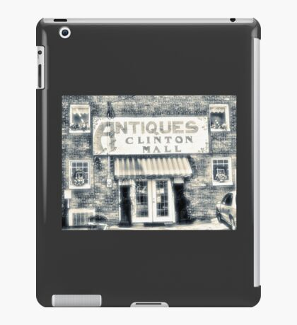 """""""Antiques... Clinton Mall, #4""""... prints and products iPad Case/Skin"""