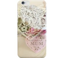 With Love To Mother iPhone Case/Skin