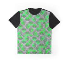 Emerald Lozenges Graphic T-Shirt