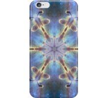 Flower power heaven sky design with sparkling stars iPhone Case/Skin
