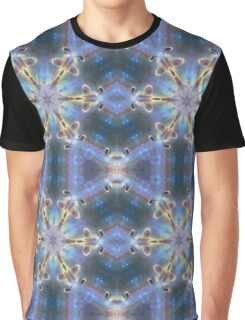 Flower power heaven sky design with sparkling stars Graphic T-Shirt
