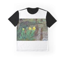 """Farndale Daffodils in the Spring"" Graphic T-Shirt"