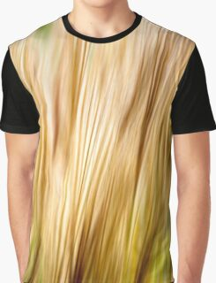 Nature Abstract Fall Grass Graphic T-Shirt