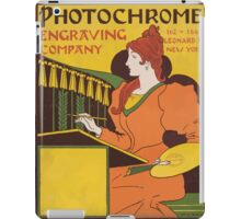 Artist Posters Photochrome engraving company 0871 iPad Case/Skin