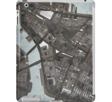 Abstract Map of Lower Manhattan iPad Case/Skin