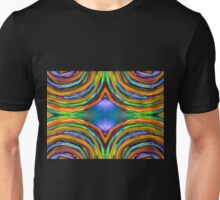 Psychedelic 4 Circle Bump Unisex T-Shirt