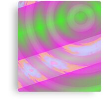 Warp Drive 1 - Space Travel Art Canvas Print