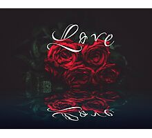Love rose Photographic Print