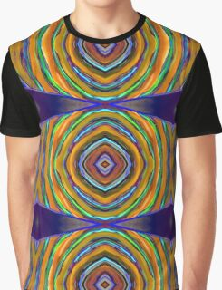 Psychedelic Circle Bump Supreme Graphic T-Shirt