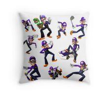 Waluigi Throw Pillow
