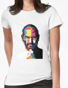 Steve Jobs | PolygonART Womens Fitted T-Shirt
