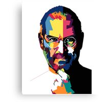 Steve Jobs | PolygonART Canvas Print