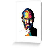 Steve Jobs | PolygonART Greeting Card