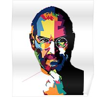 Steve Jobs | PolygonART Poster