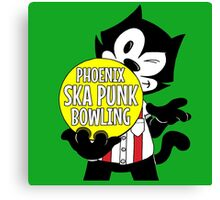 Phoenix Ska Punk Bowling Canvas Print
