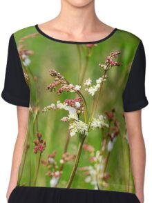 Meadow Rue Flowers Chiffon Top
