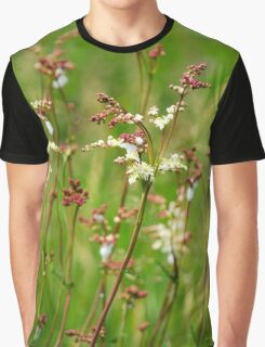 Meadow Rue Flowers Graphic T-Shirt