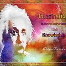 Einstein- imagination by amira