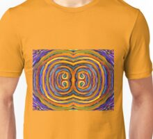 Psychedelic Double Circle Supreme Unisex T-Shirt