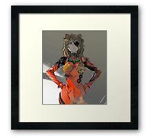 EVANGELION - Asuka Framed Print