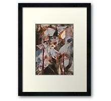A DARK THEME KEEPS ME HERE—ROETHKE Framed Print