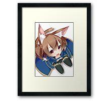 Chibi Silica Cute Framed Print