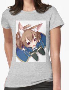 Chibi Silica Cute Womens Fitted T-Shirt