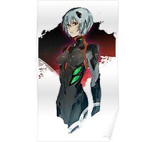 EVANGELION - Rei Poster