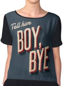 Beyoncé - Lemonade - Boy, Bye Chiffon Top