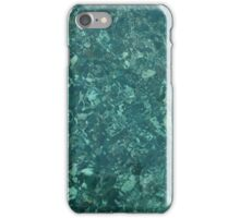 Stones in the crystal clear water iPhone Case/Skin