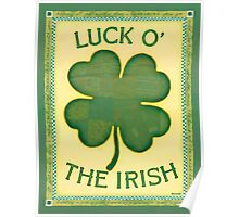 Luck O' the Irish Poster