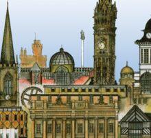 Historic Sheffield - UK, tony fernandes Sticker
