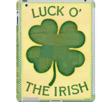 Luck O' the Irish iPad Case/Skin