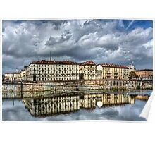 Turin Shrouded in Cloud  Poster