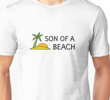 Funny Cool Humour Summer Holliday Beach Sun Unisex T-Shirt