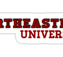 Northeastern University Sticker