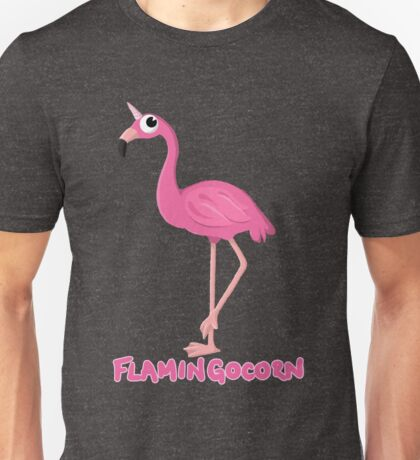 Flamingocorn Unisex T-Shirt
