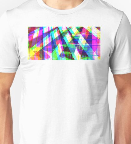 Abstract Lines Jazz Unisex T-Shirt