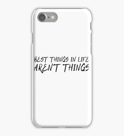 Cool Quote Inspirational Motivational Life Wisdom Happy iPhone Case/Skin