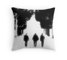 Three Is Company Throw Pillow